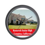 Roosevelt Junior High Wall Clock