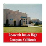 Roosevelt Junior High Tile Coaster