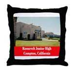 Roosevelt Junior High Throw Pillow