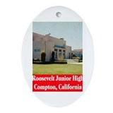 Roosevelt Junior High Ornament (Oval)