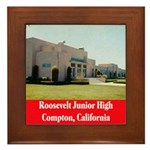 Roosevelt Junior High Framed Tile