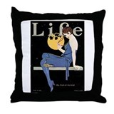 Coles phillips Throw Pillow
