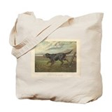 Hunting Dog antique print Tote Bag