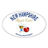Apple Cider: NH State Drink Decal