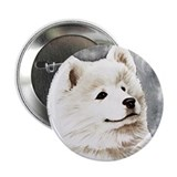 "Samoyed Puppy 2.25"" Button"