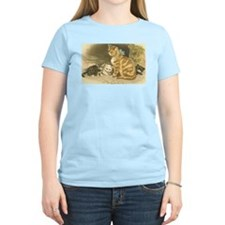Mama Cat and Kittens T-Shirt
