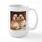 Cocker Spaniels Large Mug