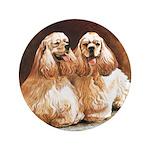 "Cocker Spaniels 3.5"" Button (100 pack)"