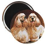 """Cocker Spaniels 2.25"""" Magnet (10 pack)"""