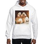 Cocker Spaniels Hooded Sweatshirt