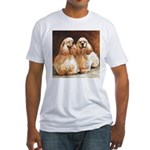 Cocker Spaniels Fitted T-Shirt