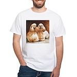 Cocker Spaniels White T-Shirt