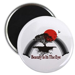 "Beauty Is In The Eye 2.25"" Magnet (100 pack)"
