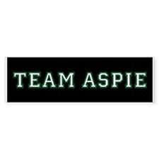Team Aspie Bumper Stickers (10 pk)