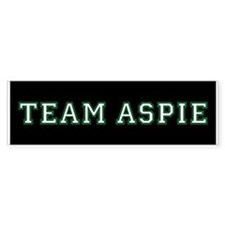 Team Aspie Bumper Bumper Sticker