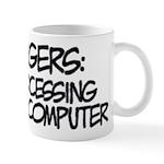 Aspergers Data Processing Mug