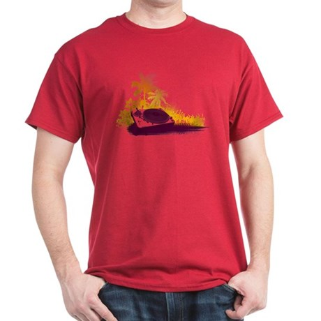 Turntable Beach Dark T-Shirt