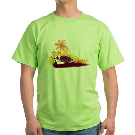 Turntable Beach Green T-Shirt