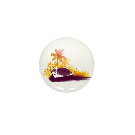 Turntable Beach Mini Button