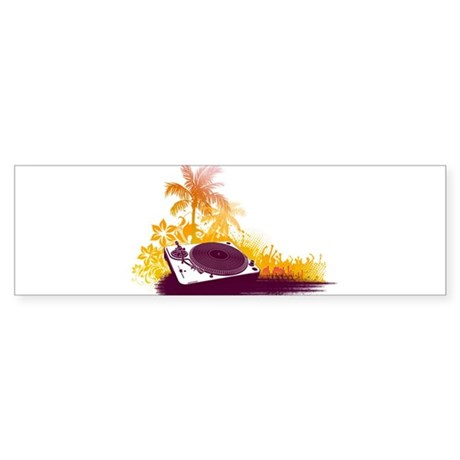 Turntable Beach Sticker (Bumper)