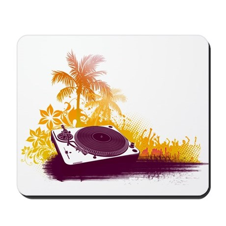 Turntable Beach Mousepad