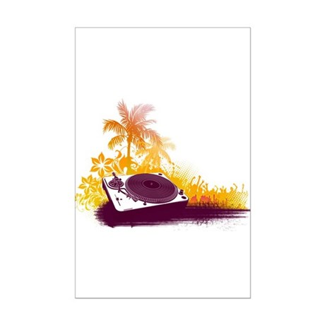 Turntable Beach Mini Poster Print