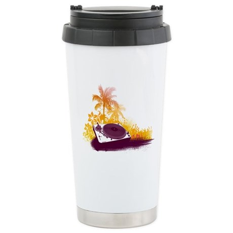 Turntable Beach Ceramic Travel Mug