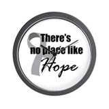 No Place Like Hope Wall Clock