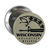 "Wisconsin Militia 2.25"" Button (10 pack)"