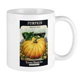 Pumpkin antique seed packet Mug