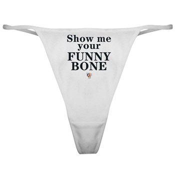 eSarcasm &amp;quot;Funny Bone&amp;quot; Thong