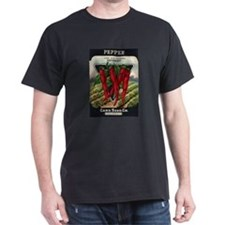 Hot Peppers antique seed pack T-Shirt