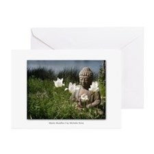 Mystic Buddha #2 Greeting Cards (Pk of 20)