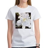 Unique Acrylic flower Tee
