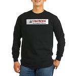 Burglar's Worst Nighmare Long Sleeve Dark T-Shirt