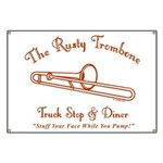 Rusty Trombone Banner