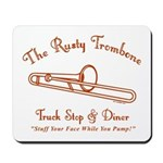 Rusty Trombone Mousepad