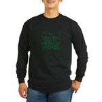 Emo: Like a Goth Long Sleeve Dark T-Shirt
