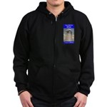Compton High Bell Tower Zip Hoodie (dark)