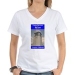 Compton High Bell Tower Women's V-Neck T-Shirt