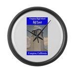 Compton High Bell Tower Large Wall Clock