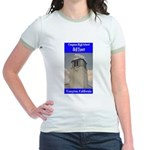 Compton High Bell Tower Jr. Ringer T-Shirt