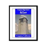Compton High Bell Tower Framed Panel Print