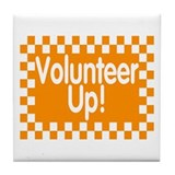 VOLUNTEER UP Tile Coaster