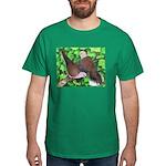 Ringneck Doves Black T-Shirt
