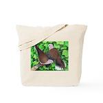 Ringneck Doves Tote Bag