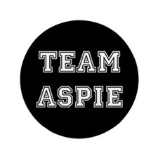 "Team Aspie 3.5"" Button"