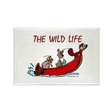 The Wild Life Rectangle Magnet