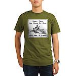Don't Hangdog! Organic Men's T-Shirt (dark)