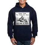 Don't Hangdog! Hoodie (dark)